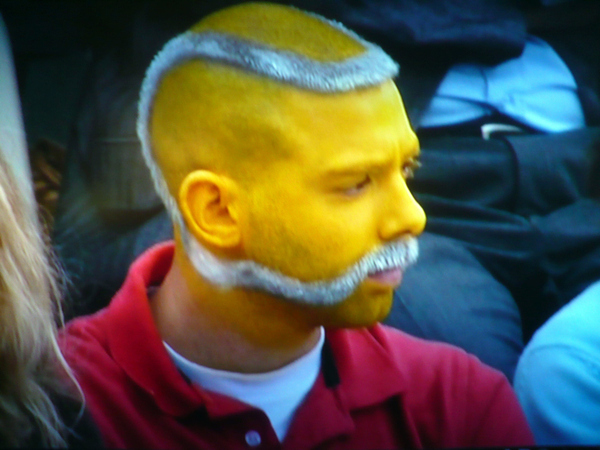Tennis Ball Mustache