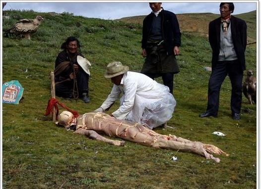 Tibetan Sky Burials