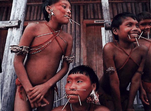 Yanomami Ash Eating