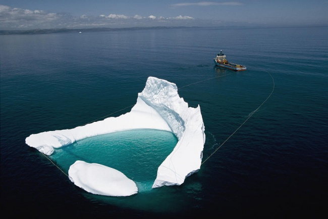 Towing of an Iceberg