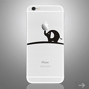 elephant iphone sticker