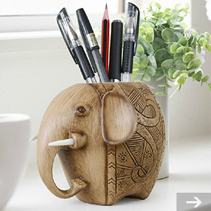 elephant pen stand