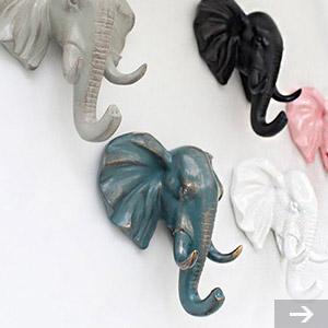 elephant wall hangers