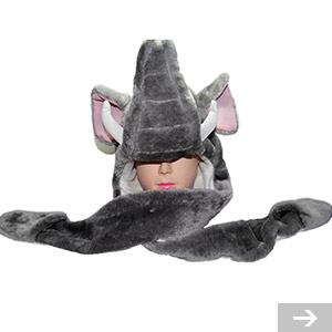 elephant winter hat